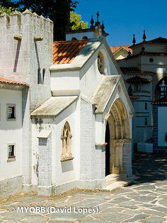 Portugal dos Pequenitos (miniature park) in Coimbra... Portugal