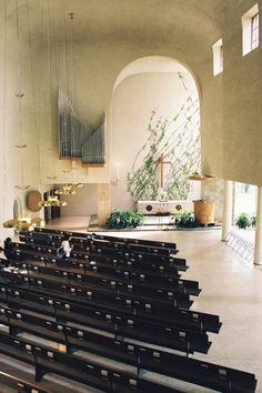 トゥルクの墓地の復活教会 Resurrection Chapel (1939~41) Erik Bryggman / Turku Finland No.36/44 : 北欧建築ゼミ アアルト