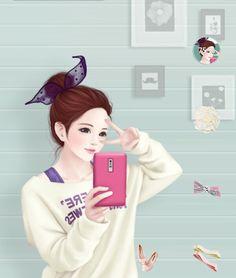 345 Best Coleksi Kartun Cantik Lucu Images Anime Girls Anime Guys