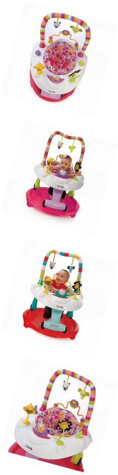 Activity Centers 20413: Kids Baby Sit Step 2 In 1 Activity Center Pink Bear Hugs Infant Nursery Walkers -> BUY IT NOW ONLY: $108.81 on eBay!
