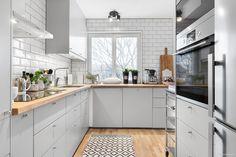 Kitchen Interior, New Kitchen, Kitchen Design, Kitchen Ideas, Prefab Homes, Kitchen Styling, Kitchen Cabinets, Dining Room, Interior Design