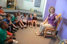 Lower School Librarian Ms. Jester