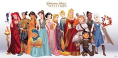 Quand les princesses Disney s'invitent dans Game Of Thrones... Une série…