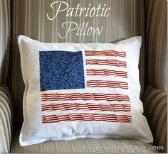 Patriotic pillow mad