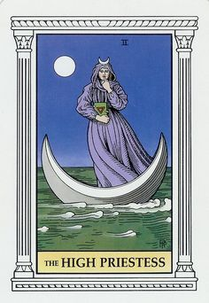 High Priestess Tarot Card Colorful Tarot Cards can provide a wealth of information. Are you willing to find out more about tarot cards or could you see yourself having a psychic reading? Have a look at www.beyondhereandnow.com