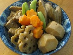Nishime Recipe (can use shiitake mushrooms in it too, makes the broth good)