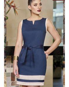 Office Dresses For Women, Trendy Dresses, Simple Dresses, Casual Dresses, Short Dresses, Dresses For Work, Elegant Dresses, Classy Dress, Classy Outfits