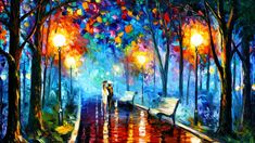Night in the Park | Living Art Boutique