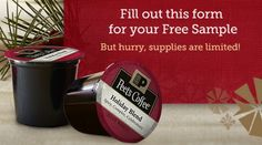 FREE Peet's Coffee Holiday Blend K-Cup Sampler Box - Raining Hot Coupons