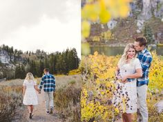 Logan Canyon Fall Engagements #kyleeannphotography -2