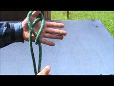 Lanyard knot.