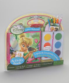 Take a look at this Disney Fairies Lap Desk & Jumbo Paints by Artistic Studios on #zulily today!
