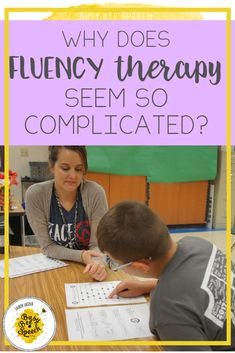 Fluency therapy ideas and resources for SLPs.   I'm sharing with you several ways you can feel more confident with fluency therapy!  I list several favorite books, resources, social media accounts, and professional development opportunities that are sure to help you!⁠