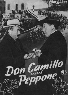 Don Camillo und Peppone. Ich liebe, liebe, liebe diese Filme! Don Camillo for Pope!