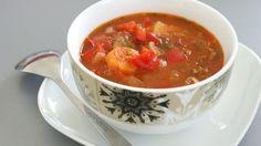 Tomato soup royally
