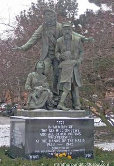 Skokie Holocaust Memorial on International Holocaust Remembrance Day