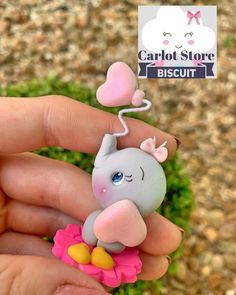 Polymer Clay Christmas, Cute Polymer Clay, Polymer Clay Animals, Cute Clay, Polymer Clay Creations, Polymer Clay Crafts, Diy Clay, Decor Crafts, Fun Crafts