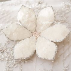 {FOR SALE} Sofreh Aghd Nabat Flower | Rock Candy Flowers by prettypleasedesign #sofrehaghd #sofreh #nabat #persianwedding