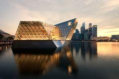 Louis Vuitton island in Singapore