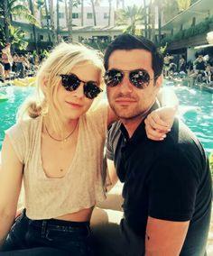 emily and her new boyfriend 🎈 - Emily Kinney, New Boyfriend, The Walking Dead, Instagram Posts, Walking Dead