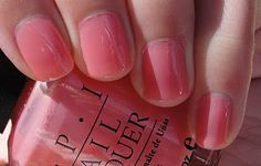 Citrine's Blog - Lip gloss, lipstick and all that good stuff...: OPI Nail Lacquer in Shimmering Coral Jelly / Love Me Tender?