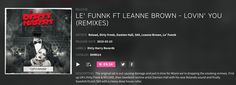 Le' Funnk ft Leanne Brown LOVIN' YOU (REMIXES) incl mixes from Dirty Freek & RELOAD, S69 and Damien Hall Rolando out now pro.beatport.com/release/le-funnk-ft-leanne-brown-lovin-you-remixes/1491556
