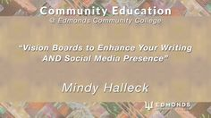 """Vision Boards to Enhance Your Writing AND Social Media Presence,"" Mindy Halleck, June 21st, 2017  Hey, writers, vision boards can transform your storytelling and spin your writing research into marketing gold. Learn how objects and images help tell your story, then convert that story world into social media fodder, and launch or enhance your online presence long before the book deal. This part-storytelling and part-social media hands on workshop is for writers of all levels. Lots of…"