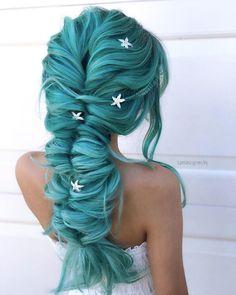 Aqua mermaid by Shayla