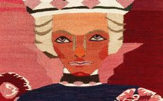 """Petter Dass, detalj"" - 1940. 147x258cm /  Hannah Ryggen /  absolutetapestry.com"