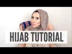 Pashmina Hijab Tutorial, Turban Tutorial, Hijab Style Tutorial, Hijab Wear, Turban Hijab, Hijab Bride, Pakistani Wedding Dresses, Dina Tokio Outfits, Muslim Fashion