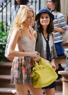 gossip girl blake lively perfect outfit summer spring style