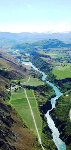 Near Queenstown, South Island New Zealand  By Renee Tee