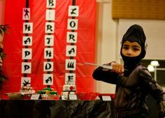 Fabulous Fetes ::: event planning & event design service: {Real Parties} Ninja Party