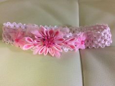 Hey, I found this really awesome Etsy listing at https://www.etsy.com/listing/239335575/custom-floral-pink-lace-elastic-headband