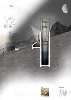 Presidents Medals: The Bridge of Alchemy, Atlas Mountains, Morocco-NIGHT SKY, CONCRETE SECTION FILL