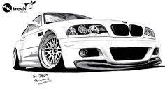Bmw E46 drawing Lion Head Tattoos, Car Tattoos, Bmw Sketch, Bmw Wallpapers, Bmw 7 Series, Car Illustration, Car Drawings, Automotive Art, Koenigsegg
