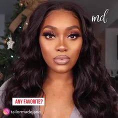 If you love wearing dramatic makeup looks go for these ideas By tailormadejane Red Lips Makeup Look, Glam Makeup Look, Black Girl Makeup, Dark Skin Makeup, Girls Makeup, Gorgeous Makeup, Love Makeup, Natural Makeup, Orange Makeup