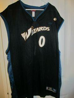 Gilbert Arenas - Washington Wizards Basketball Jersey - Adidas Men 3XL  9759bc5b2