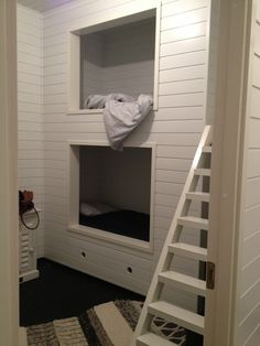 A comfortable place to sleep. Loft Beds, Kidsroom, Matilda, Building A House, Concrete, New Homes, Sleep, Rooms, Interiors
