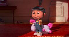 Agnes is so cute! Despicable Me 2