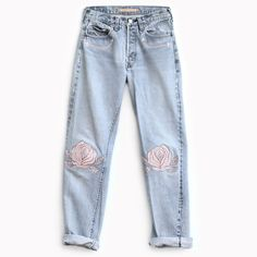 Bliss and Mischief - Song of the West Denim in Pink