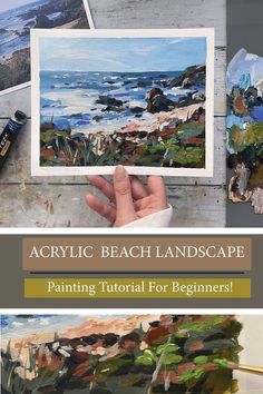 In this FREE tutorial, I will be teaching you how to paint a Loose Acrylic Beach Landscape using a reference photo! Will walk you through this painting step by step, this video is great for all… More