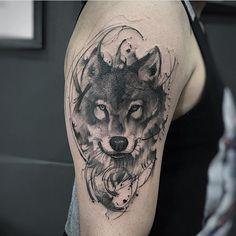 #inspirationtatto Artista: phetattooist ➖➖➖➖➖➖➖➖➖➖Marque sua Tattoo com a Tag #inspirationtatto e sua foto poderá aparecer no perfil. ✒️