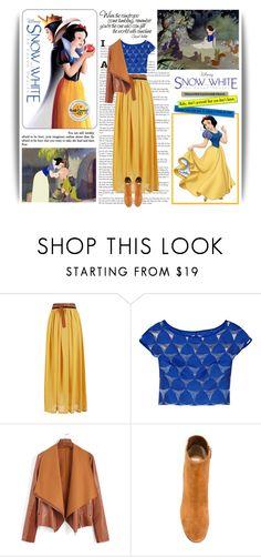 """""""Disney's Snow White and the Seven Dwarfs"""" by nadia-varbeva ❤ liked on Polyvore featuring Milly, Gianvito Rossi, women's clothing, women's fashion, women, female, woman, misses, juniors and snowwhite"""