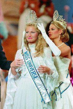 1984 Miss Universe Yvonne Ryding of Sweden.