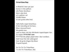 Sinterklaas Rap -