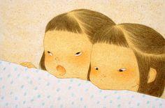 言い分 / Claim / Ikumi Nakada33.3×22cm(13.1×8.7inch)/ 2014/ oil and pencil on paper