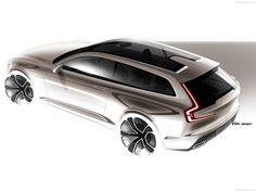 Volvo Estate Concept 2014 | Sketch