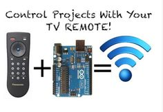 Control your Arduino projects with your TV remote http://www.instructables.com/id/The-Easiest-Way-to-Use-Any-IR-Remote-with-Ardiuno/