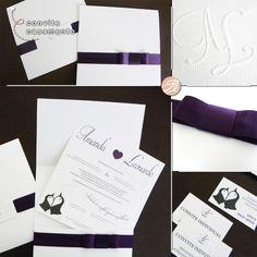 13 1170 convite Casamento | Amanda & Leonardo